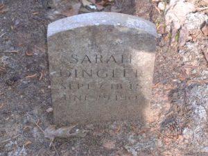 Sarah Dingler Headstone